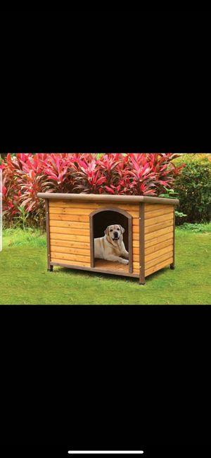 Brand new wooden doghouse! Nueva casita de madera para mascota!! for Sale in Los Angeles, CA