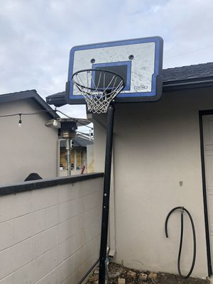 Lifetime basketball hoop for Sale in Whittier, CA