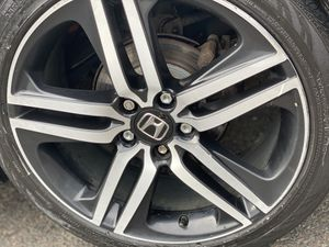 19 in rims & tires 235/40/19 5x114 for Sale in Hartford, CT