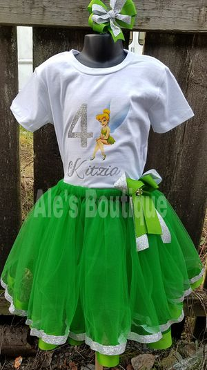 Tinkerbell tutu for Sale in South Hill, WA