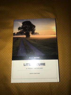 "Literature ""A Pocket Anthology"" 6th edition BRAND NEW! for Sale in Newark, NJ"