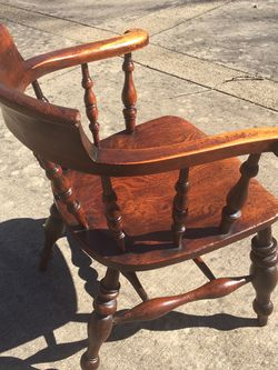 Pre-Civil War 1820s Windsor Captain Arm Chair for Sale in Vienna,  VA