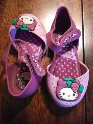 Hello kitty mini melissa sz 7 for Sale in Alta Loma, TX