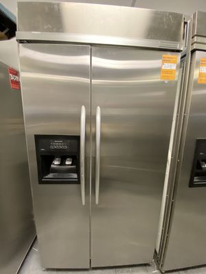 KitchenAid 2 Door Side By Side Stainless Steel Refrigerator Built In for Sale in Long Beach, CA