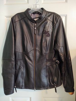 Harley Davidson women's leather jacket for Sale in Peachtree Corners, GA