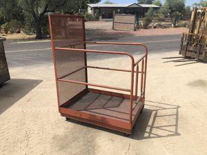 Forklift man basket for Sale in Glendale, AZ