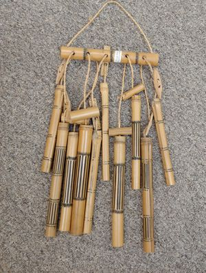 Rare Bamboo Wind Chime Made In Cameron Art No. 09905 for Sale in Burlington, NC