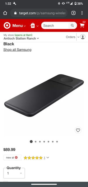 Samsung wireless charging pad trio for Sale in Antioch, CA