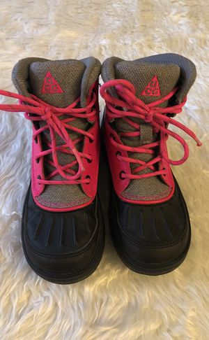 Nike ACG boots size12c for Sale in Portland, OR