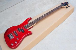 Red custom built electric bass guitar for Sale in Los Angeles, CA