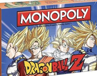 Dragon Ball Z Monopoly Game for Sale in Aloha,  OR