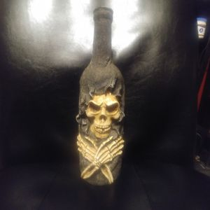 Grim reaper candle holder for Sale in Amherst, VA