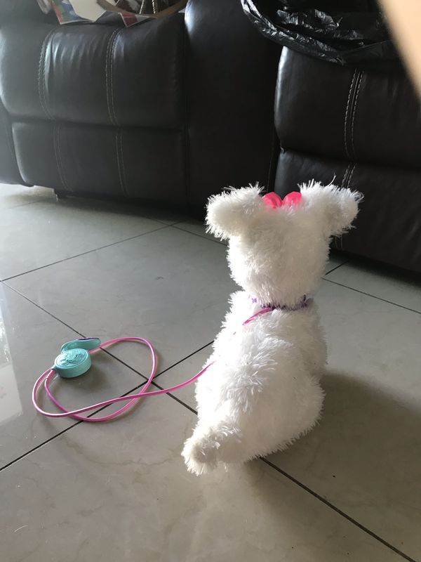 My walking puppy FurReal friends