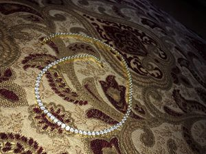 Gold plated Tennis Chain for Sale in Ontario, CA