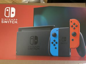 Nintendo Switch V2 32 GB neon blue and red Console for Sale in Westminster, CA
