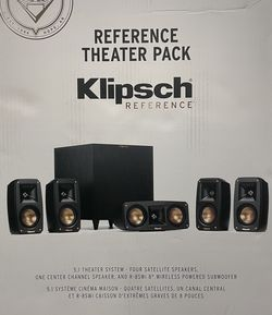 Klipsch Reference Theater Pack 5.1 Channel Surround Sound System for Sale in Everett,  WA