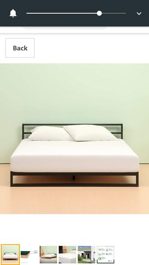 Zenos green tea memory foam queen and king size beds used for 4 months only we bought for 150 each bed.selling both for 200$ for Sale in Santa Clara, CA