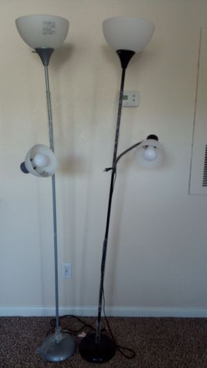 2 Floor lamp for sale -$10 for Sale in Durham, NC