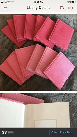 Mini pink photo albums for Sale in Tracy, CA