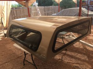 Camper Shell fits medium size truck bed for Sale in Chandler, AZ