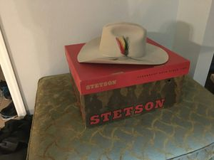 Stetson cowboy hat for Sale in Kissimmee, FL