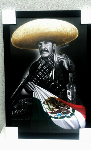 Mexican Charro Warrior Picture Frame for Sale in Huntington Beach, CA