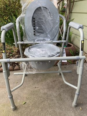 DRIVE Deluxe Steel Drop-Arm Commode BRAND NEW!!! for Sale in Antelope, CA