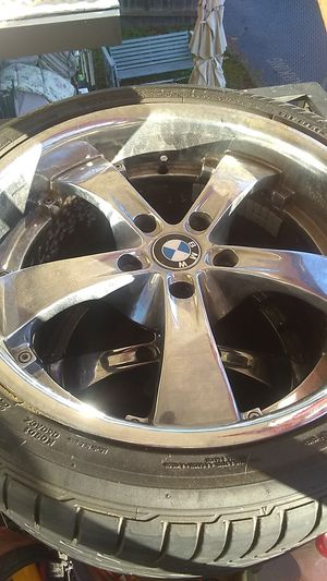 """BMW rims and tires 18"""" for Sale in Auburn, WA"""