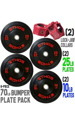 Bumper plate / weight plates for bench press for Sale in NEW CARROLLTN, MD