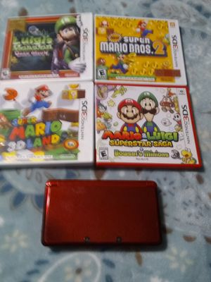 3ds with Mario games for Sale in San Marcos, CA