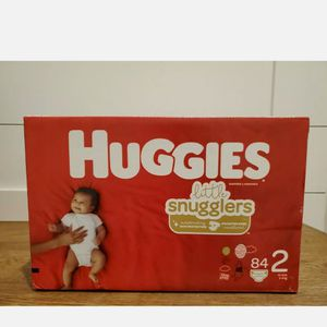 Huggies Diapers Little Snugglers Size 2 for Sale in Brooklet, GA