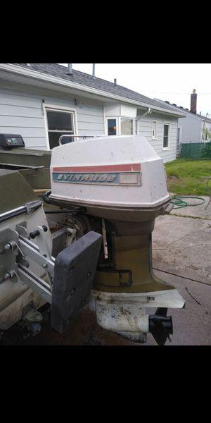Boat motor and trailer for Sale in Roseville, MI