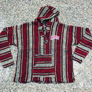 Hoodie poncho backwoods patchwork size large for Sale in National City, CA