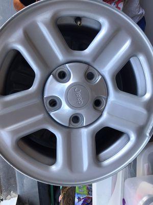 "Jeep Wrangler Factory Rims 17"" for Sale in Henderson, NV"