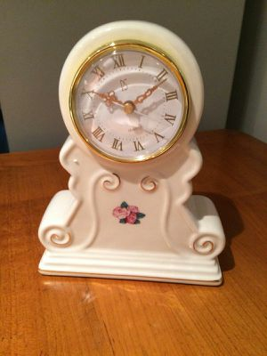 Moving sale. Like new antique porcelain clocks, ceramic planters, antique collectable for Sale in Owings Mills, MD