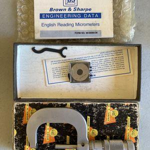 Brown & Sharpe Micrometer for Sale in Vista, CA