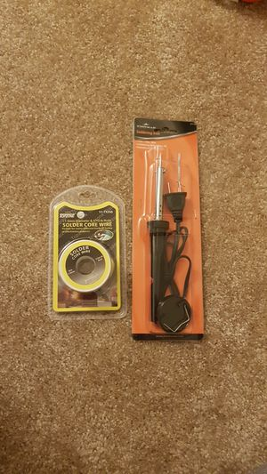 Soldering iron with solder core wire for Sale in Walnut Creek, CA