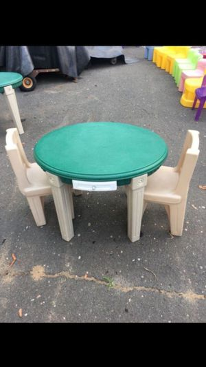 Table kids table and chairs for Sale in Plainville, CT