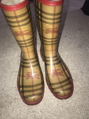 VINTAGE Burberry Rain Boots for Sale in Atlanta, GA