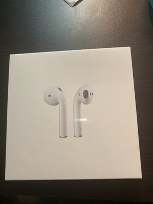 Brand New AirPods 2 with Wireless Charging Case. for Sale in Washington, DC