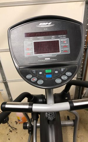BH fitness X8 Elliptical machine. Self powered. Great work out! for Sale in Alexandria, VA