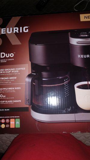 Keurig kduo coffee machine new for Sale in Denver, CO