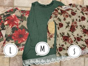 4 boutique blouses for $30 for Sale in Brooks, OR