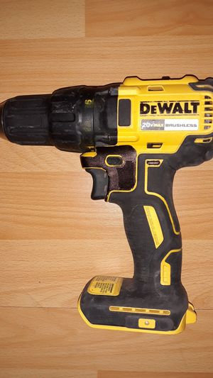 DEWALT 20V Brushless Drill w/o battery for Sale in Austin, TX