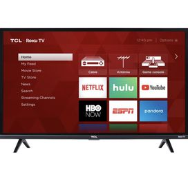 TCL Roku TV - 32'' - 1080p for Sale in Bellevue,  WA