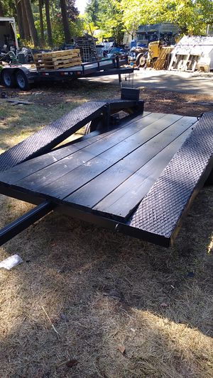 Utility trailer - 5ft x 9ft for Sale in BETHEL, WA