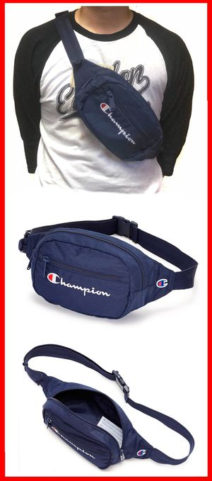 Brand New! CHAMPION waist hip fanny pack crossbody side bag travel hiking biking bag for Sale in Torrance, CA
