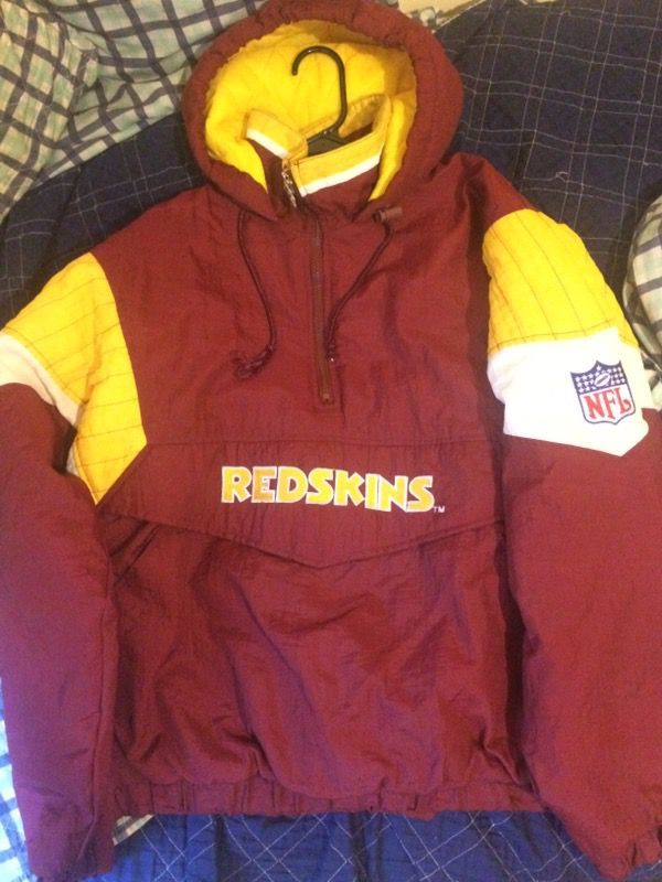 Size large on all 3 jackets/hoodies