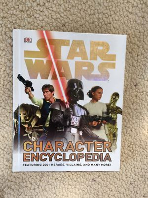 Star Wars Character Encyclopedia Hardcover for Sale in North Tustin, CA