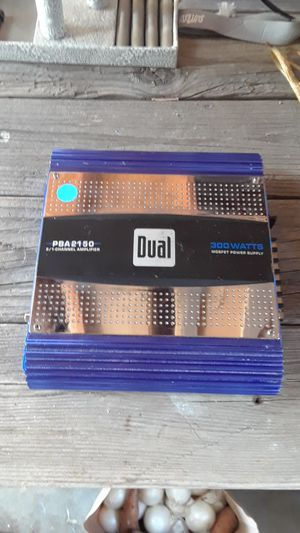 Dual power amplifier for car stereo for Sale in Littleton, CO
